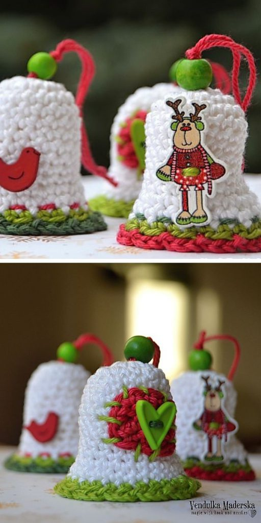 Christmas Time Bell Free Crochet Pattern