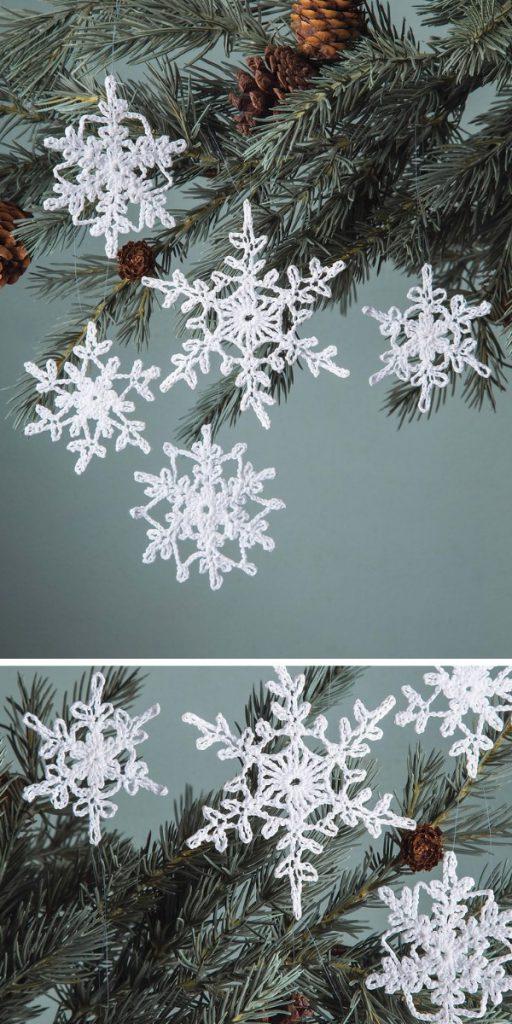 Delicate Snowflake Free Crochet Pattern