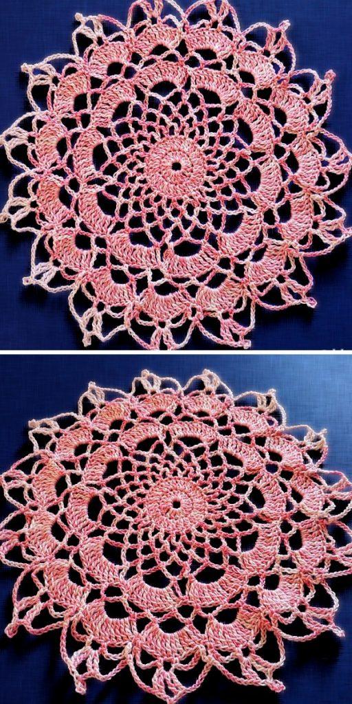 Happy Doily Free Crochet Pattern