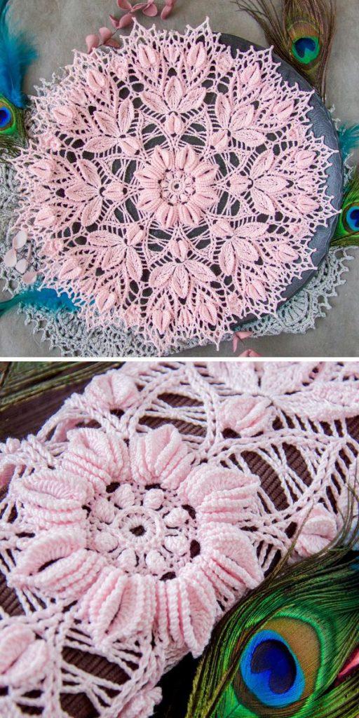 Idunn Doily Crochet Pattern