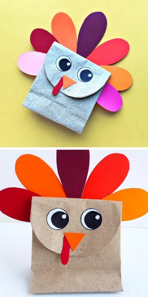 Paper Bag Turkey Easy Craft Project
