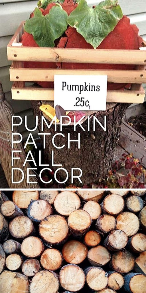 Rustic Pumpkin Patch Easy Craft Project