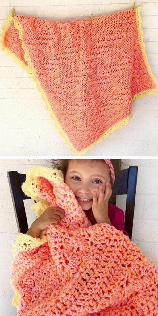 Shine Bright Blanket Free Crochet Patterns