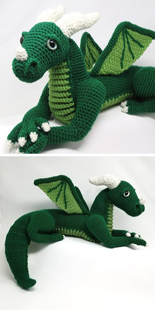 Vincent the Dragon Free Crochet Pattern