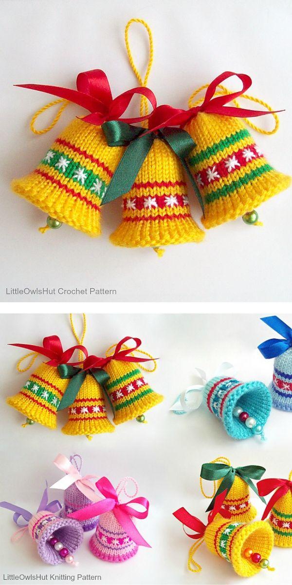 free crochet pattern: Amazing Christmas Decorations