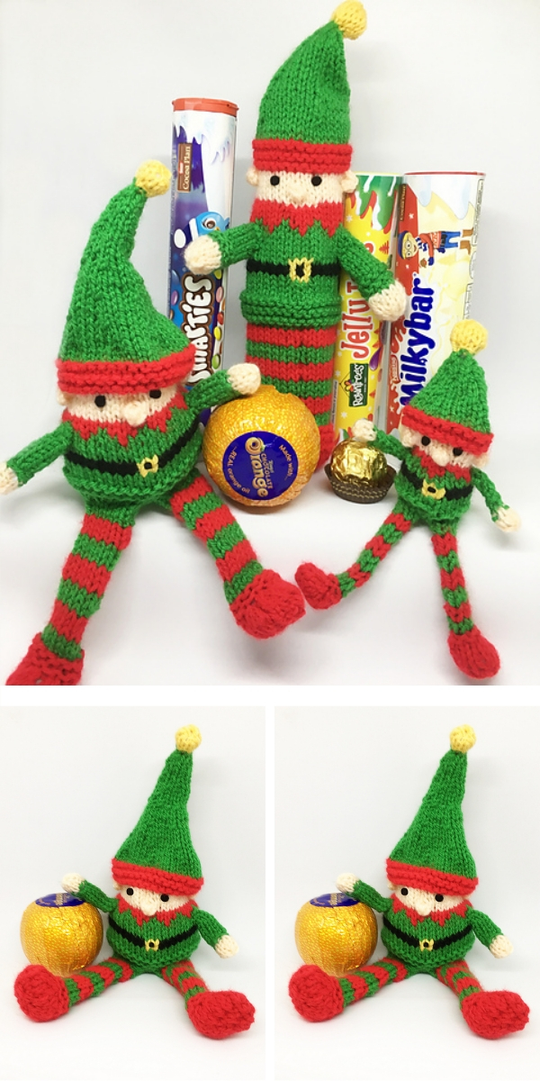 Knitting pattern: Christmas Characters Elf