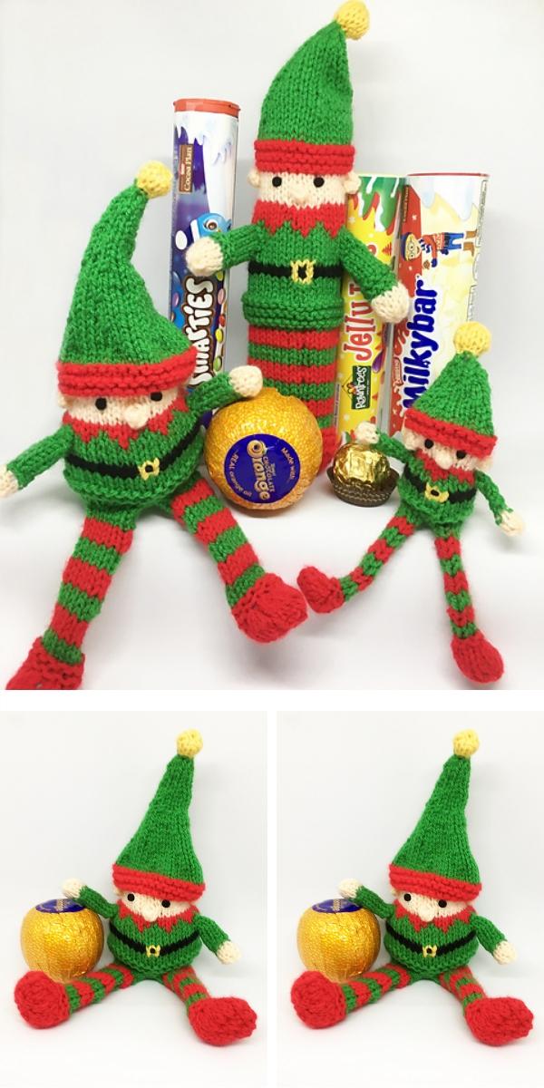 Knitting pattern: Christmas Characters Elf