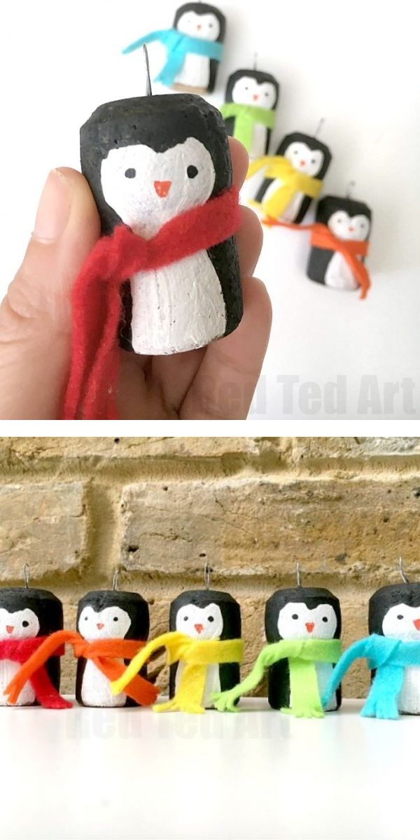 Free Patterns: Christmas Crafts for Kids Penguin