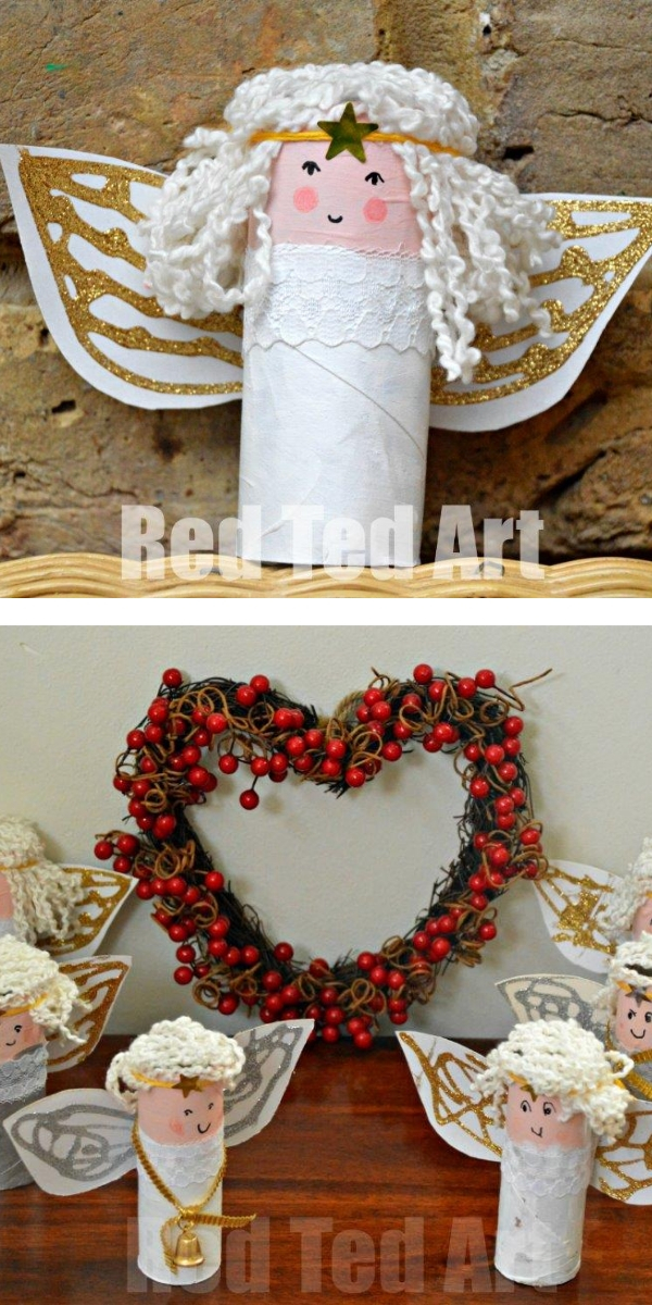 Free Patterns: Christmas Crafts for Kids Angel