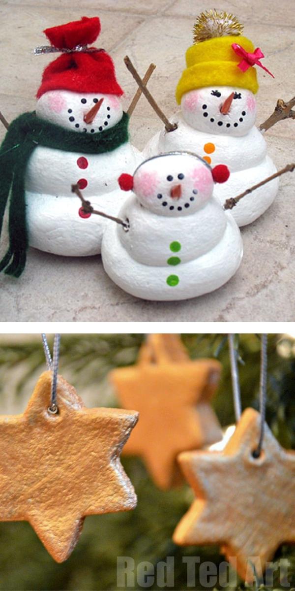 Free Patterns: Christmas Crafts for Kids Salt