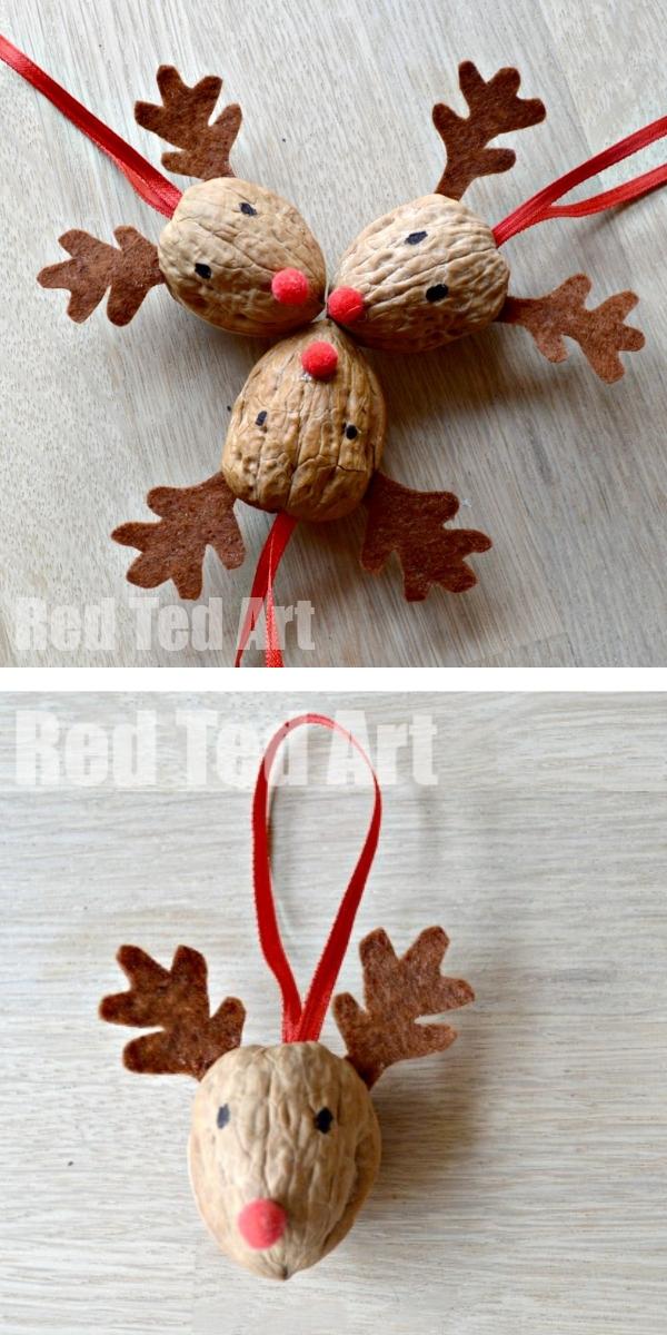 Free Patterns: Christmas Crafts for Kids Reindeer