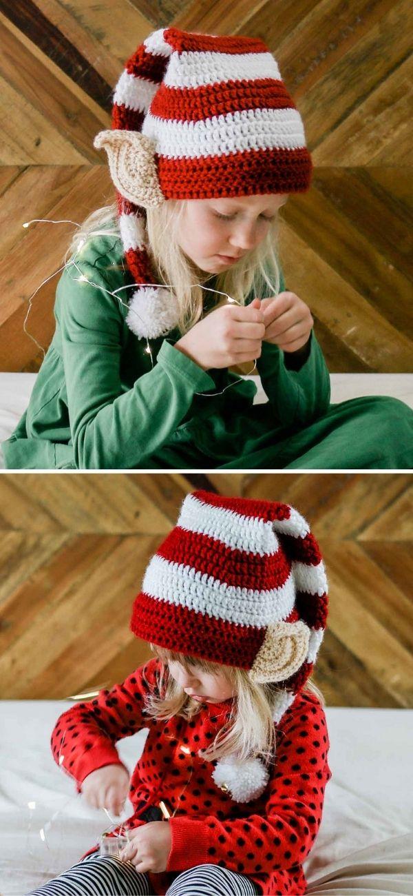 Santa's Helper Elf Hat