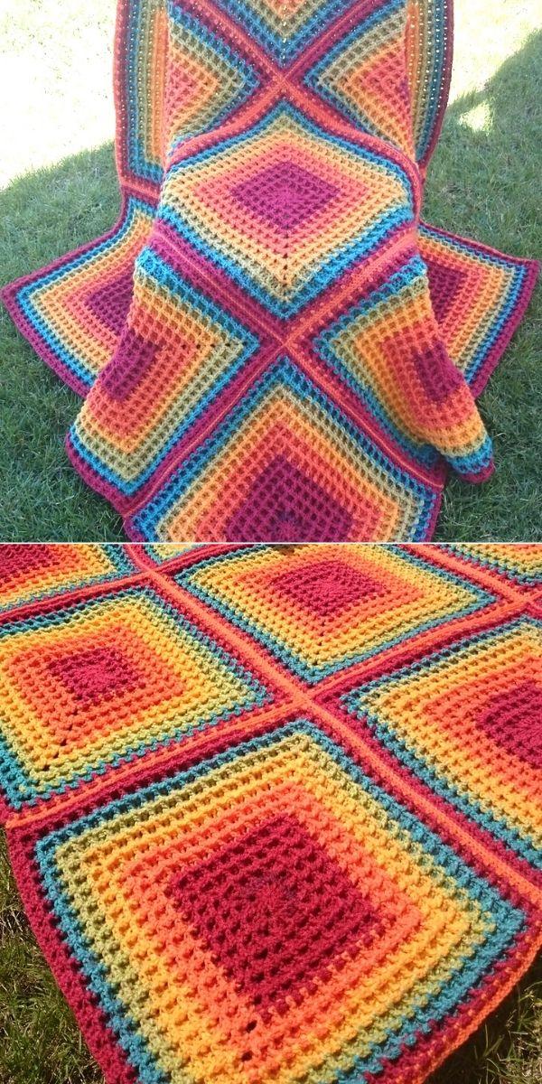 Squared Waffle Rainbow