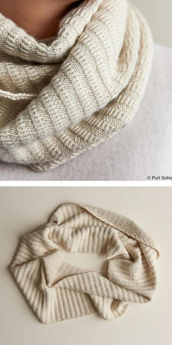 Floats Cowl free knitting pattern