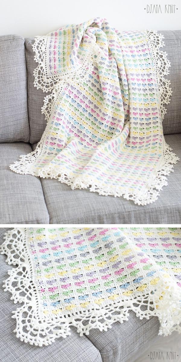 I Love Scraps Afghan Free crochet pattern