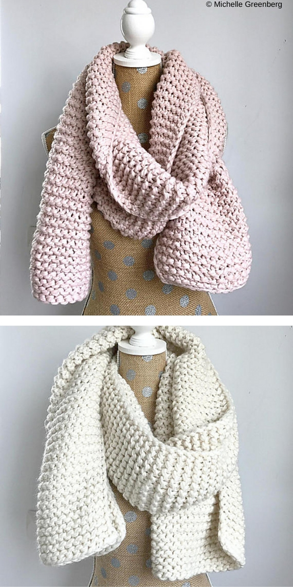 Great Start Super Scarf free knitting pattern