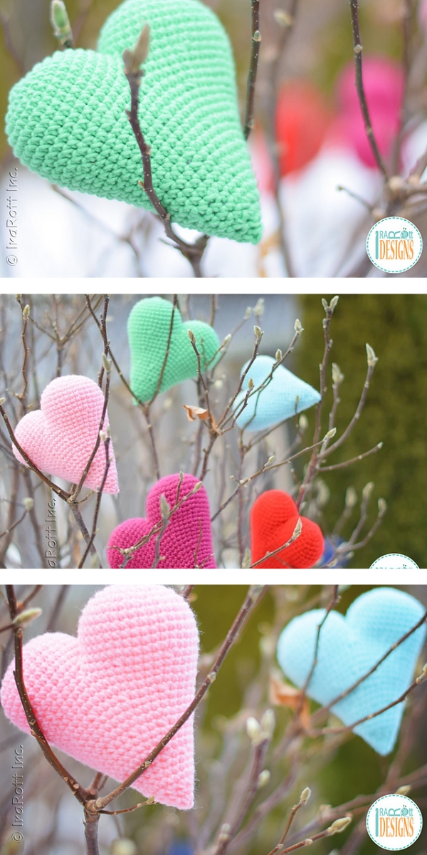 Cupid Hearts free crochet pattern