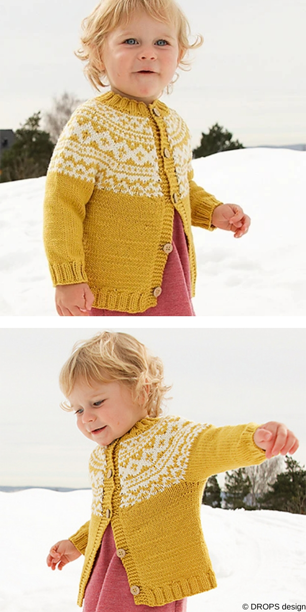 Little Missy Jacket free knitting pattern