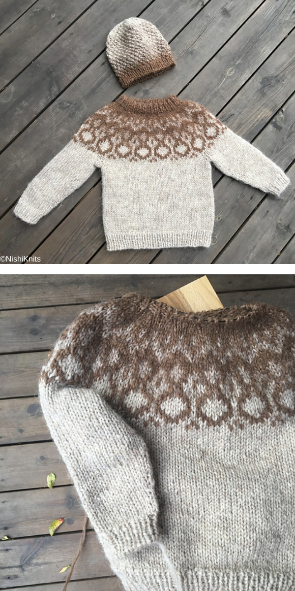 Alva free knitting pattern