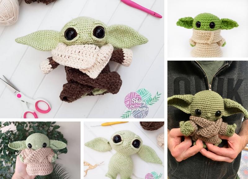 Alien LGM Free Crochet Pattern | 576x800