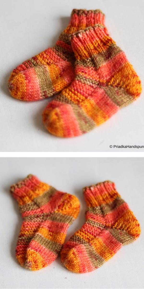 PIDILIDI toe up socks free knitting pattern