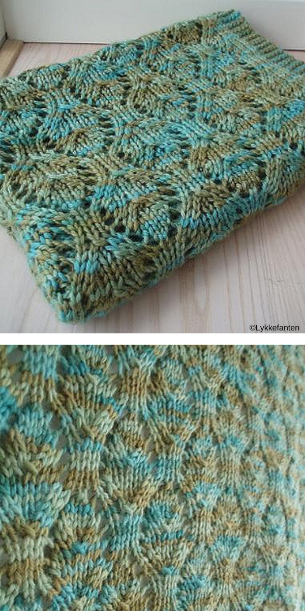 Baby Chalice Blanket free knitting pattern