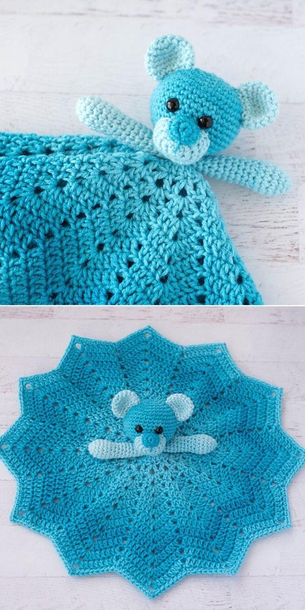 Blue Baboo Bear