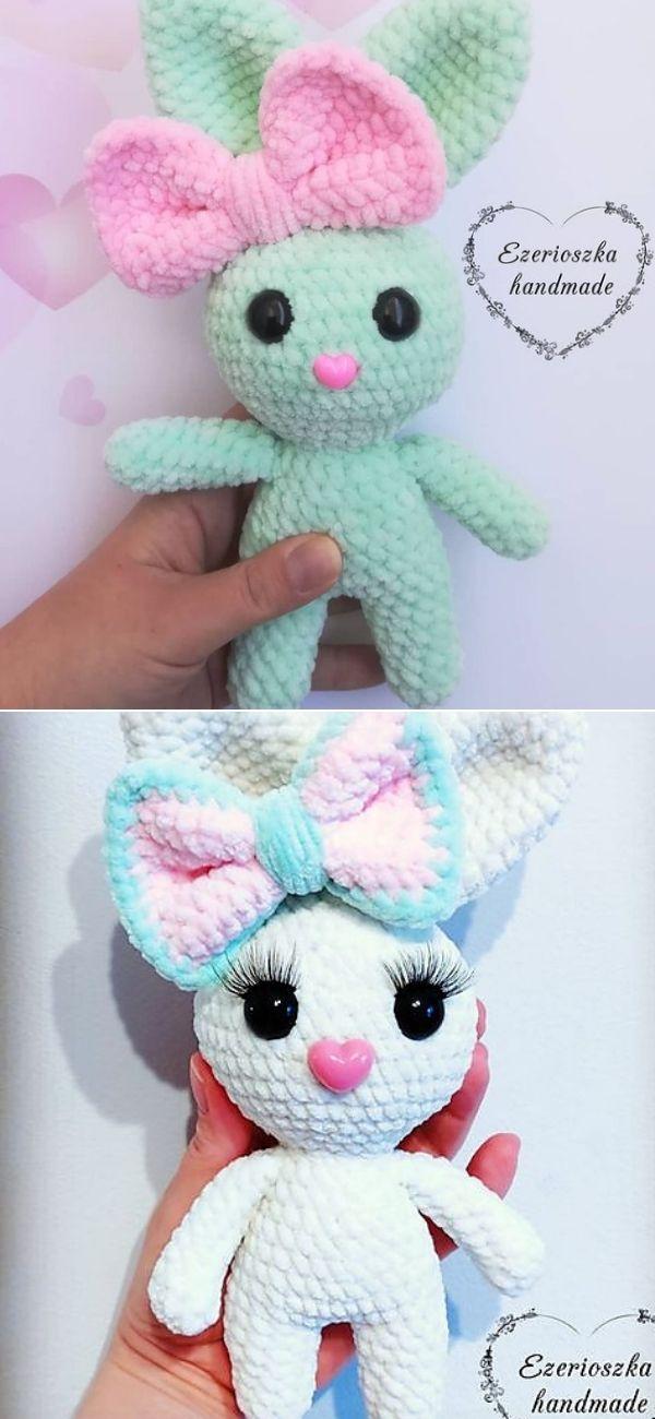Cute small amigurumi Bunny