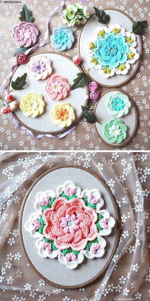 Flower Tutorial Free Crochet Pattern