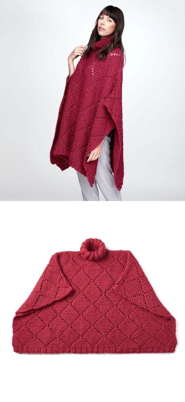 Garter Lace Poncho