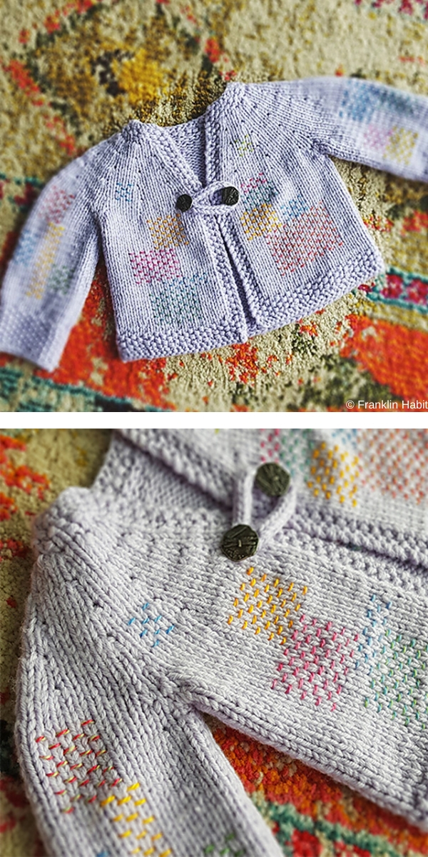 Five-Hour Baby Jacket Free Knitting Pattern
