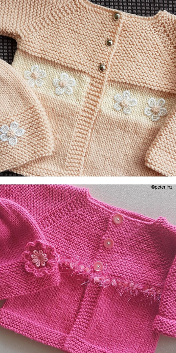 Babbity Baby Jacket Free Knitting Pattern