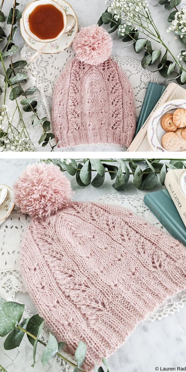 Profiterole Hat free knitting pattern