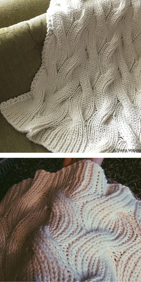 Moguls free knitting pattern