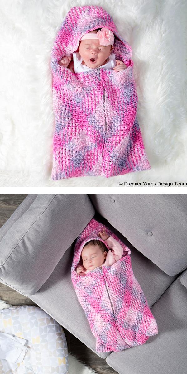 Wee Bairn Sleep Sack Free Crochet Pattern