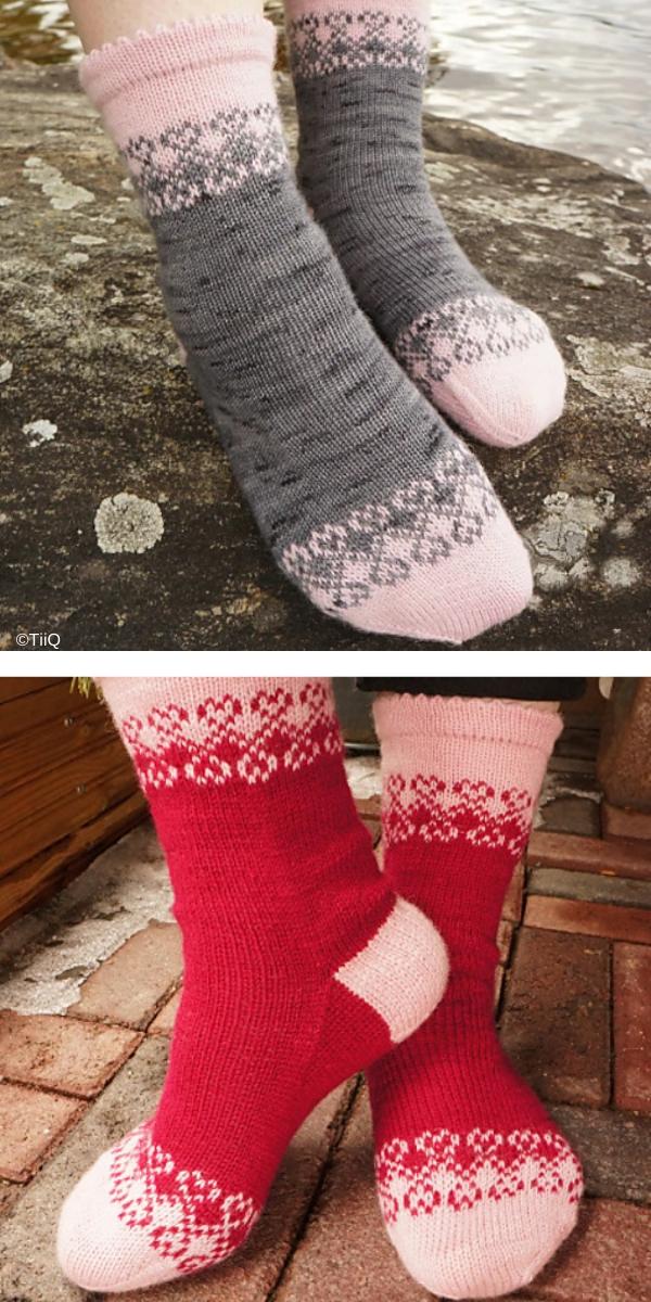 Unelma Onnesta free knitting pattern