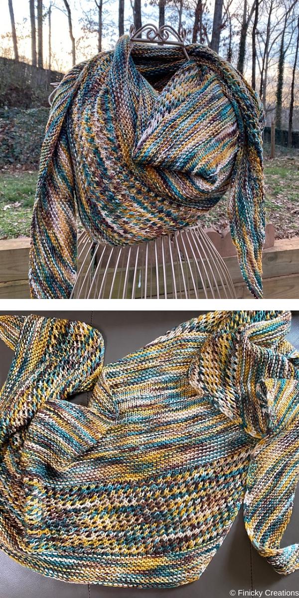 Easy Goes It DK Free Knitting Pattern