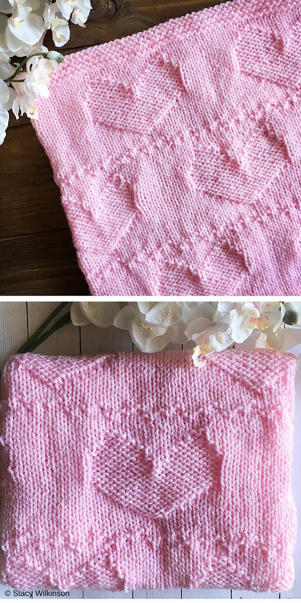 Valentines Cowl free knitting pattern