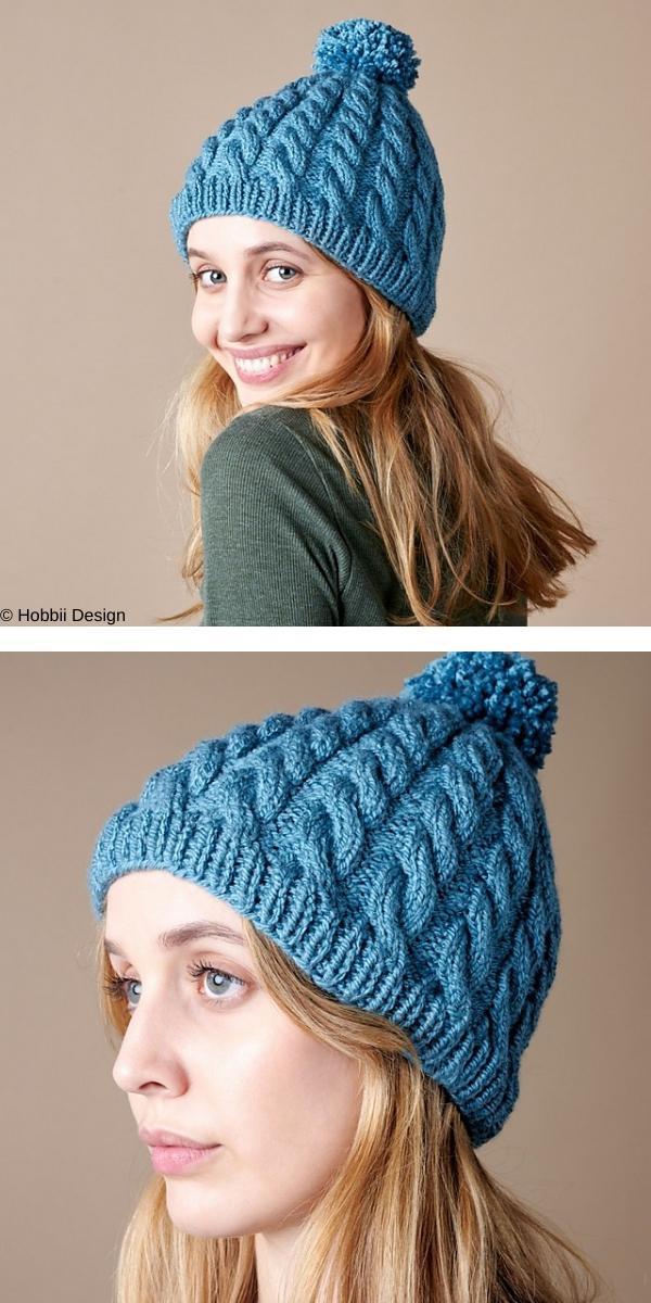 Neva Hat Free Knitting Pattern