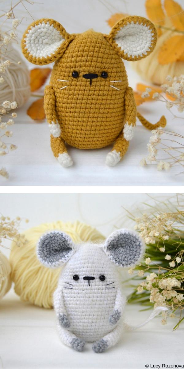 Amigurumi Baby Rats | 1200x600