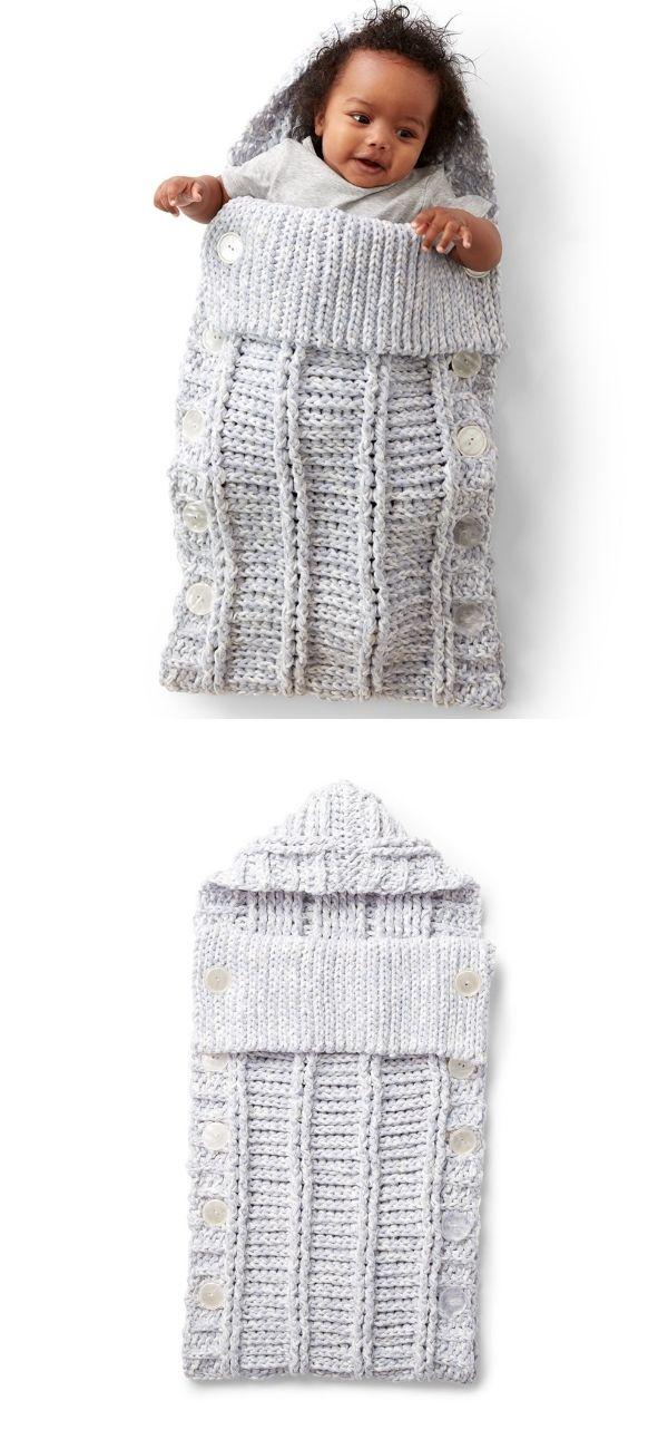 Bernat Crochet Bunting Bag