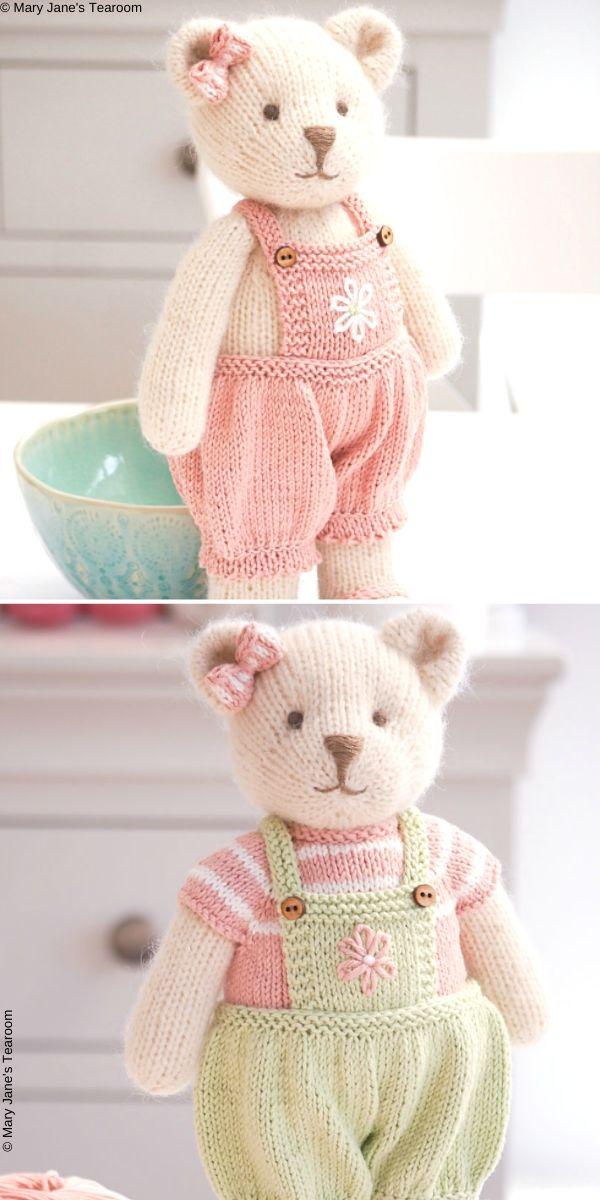 CANDY Bear: Method 1Paid Knitting Pattern