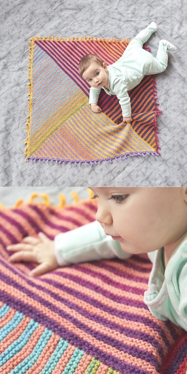 Meadowland Baby Afghan (Knit)