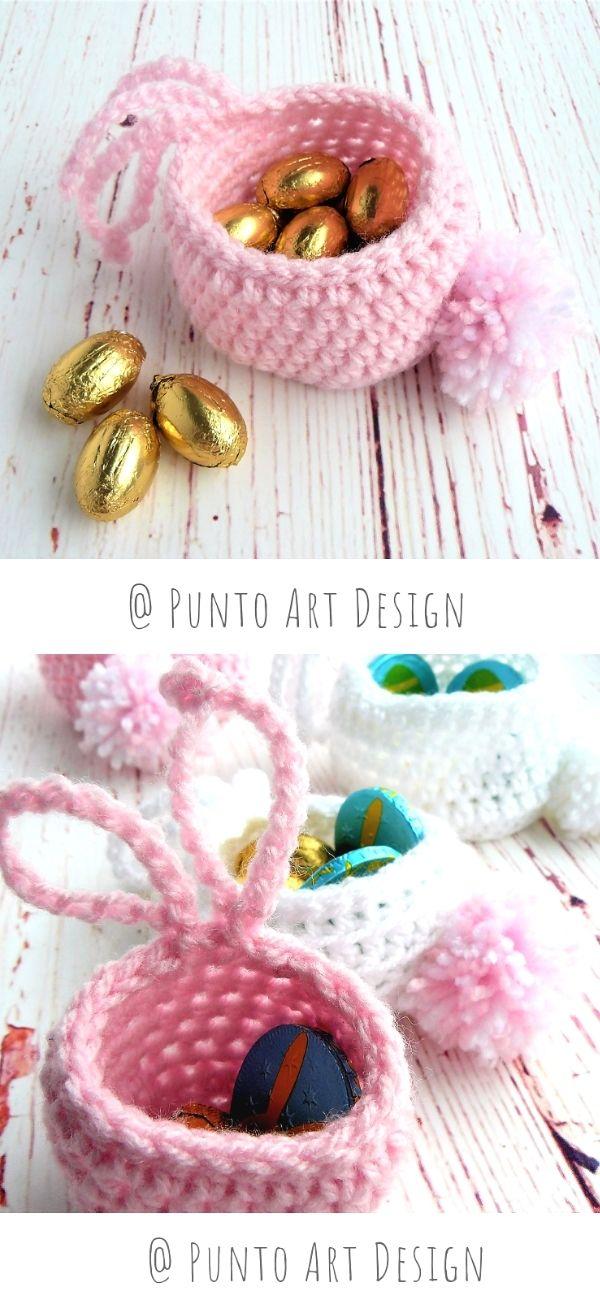 Mini Bunny Basket