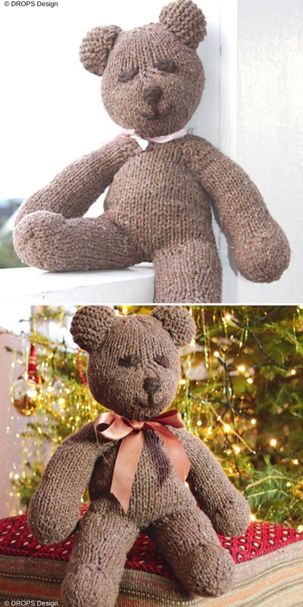 Charming Bears Knitting Patterns