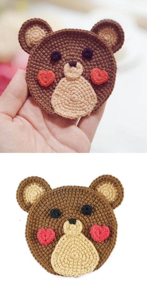 Teddy applique