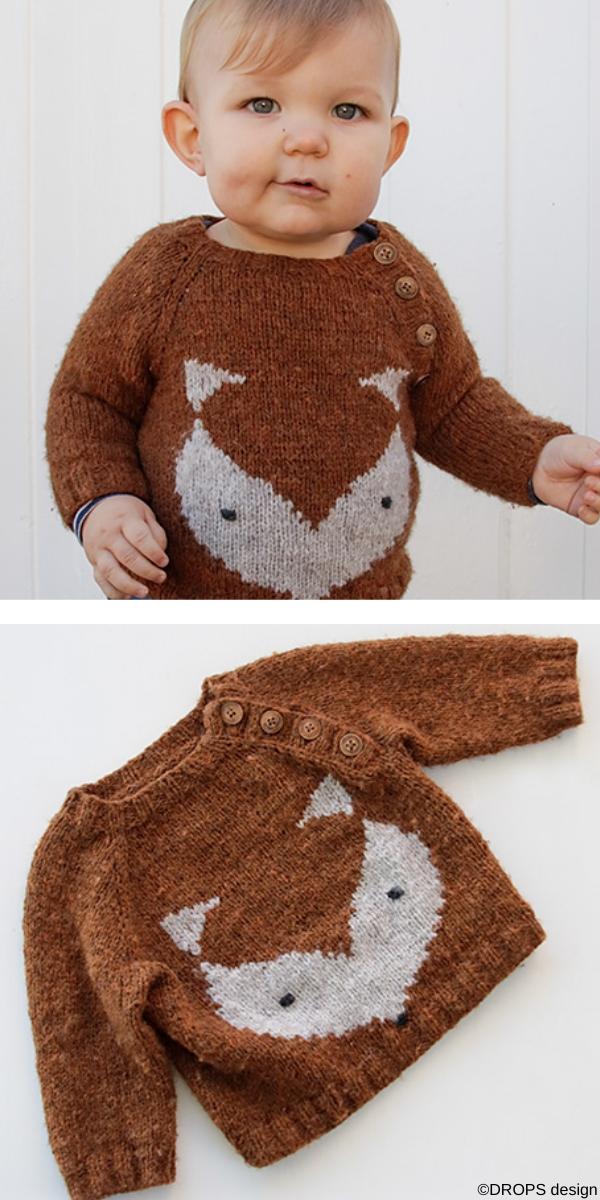 Little Fox Free Knitting Pattern