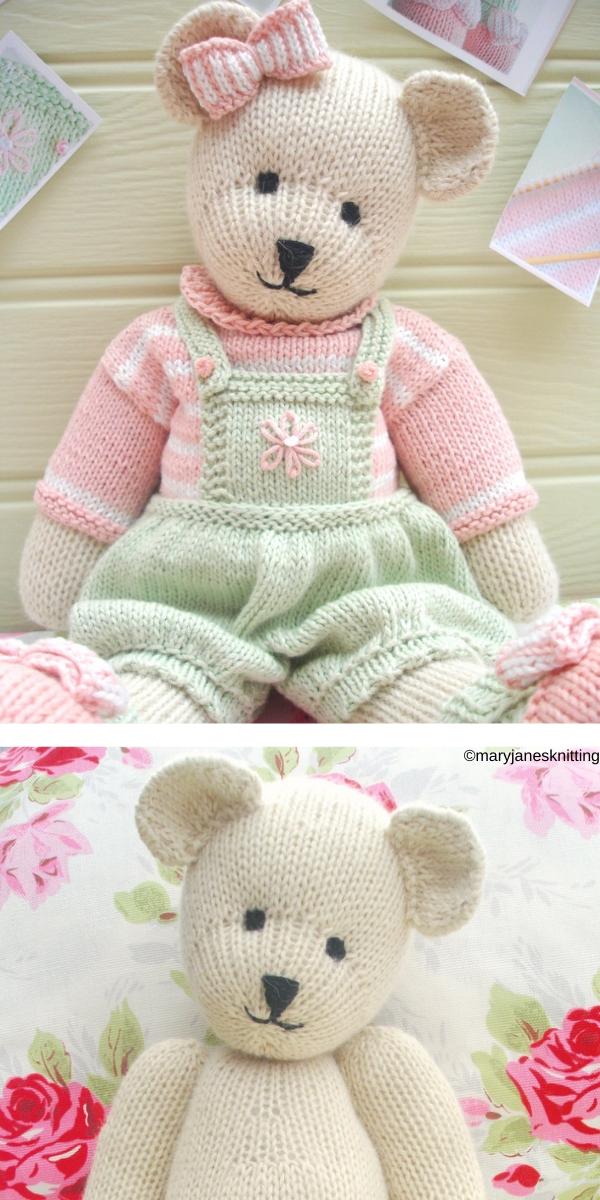 Candy Bear Knitting Pattern
