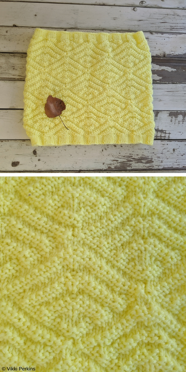 Colias Cowl Free Knitting Pattern