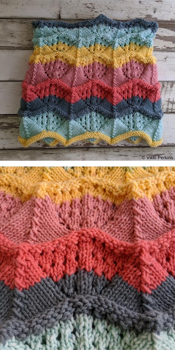 YYC Cowl Free Knitting Pattern